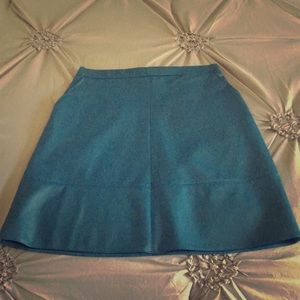Primark Teal Vegan Leather Skirt